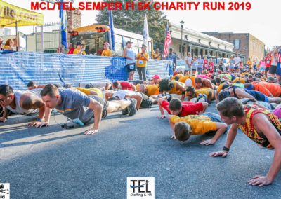 2019-TEL-MCL-Semper-Fi-5k-Charity-Run-for-the-Children-Fun-Run-Pensacola-FL_Prerace-pushups-down