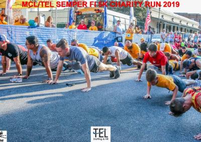 2019-TEL-MCL-Semper-Fi-5k-Charity-Run-for-the-Children-Fun-Run-Pensacola-FL_Prerace-pushups-up